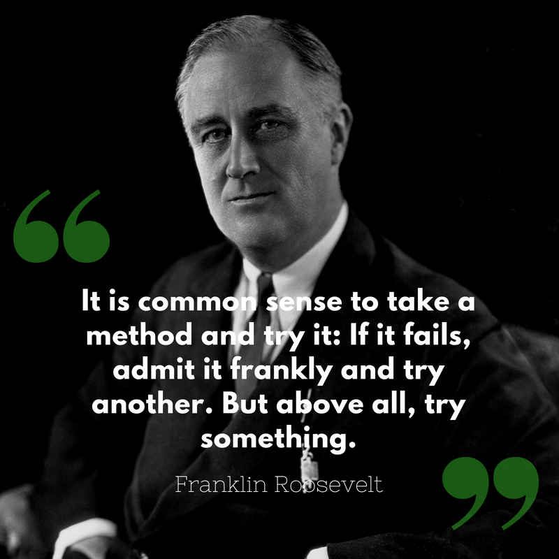 10 Quotes Every Entrepreneur Should Know (Franklin Roosevelt)